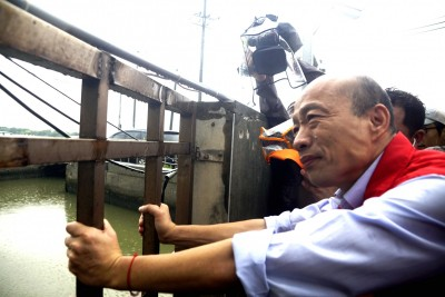 把選舉當兒戲是韓 他要台灣堅持主流民意
