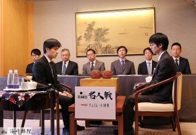 圍棋女神黑嘉嘉!  明將親臨日本圍棋名人賽台灣對局