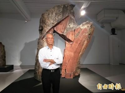 美術館20週年 朱銘:做藝術家沒有退休,繼續刻下去