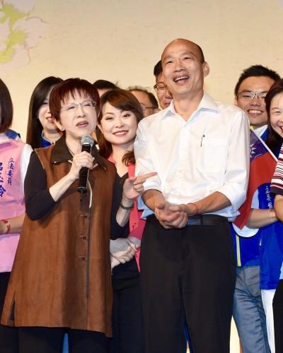 韓國瑜不成材  他苦嘆國民黨為何不換瑜?