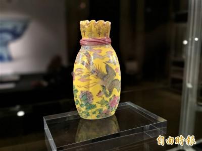 香港蘇富比秋拍預展台北登場 這個瓶子要價8億台幣