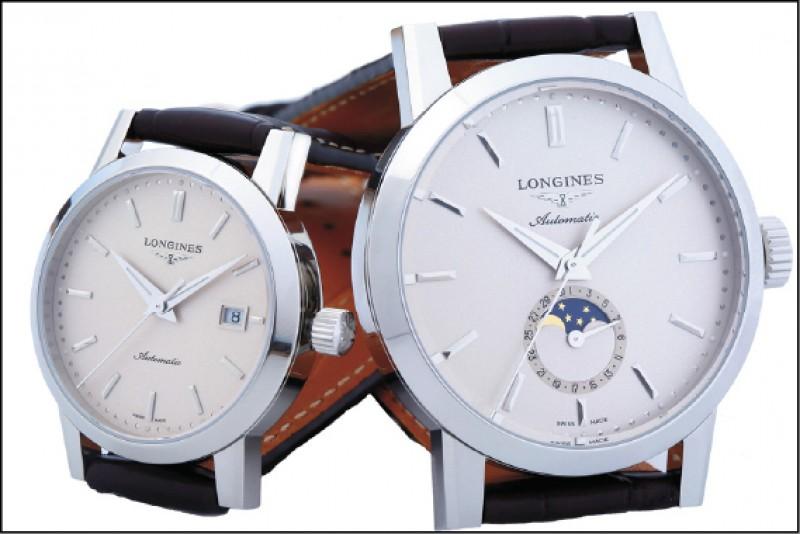【時尚名人】林志玲幸福蜜碼 浪琴知曉─品牌送上對錶 錶背打造C A專屬圖騰