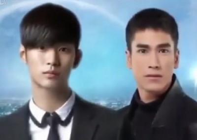 泰版《來自星星的你》收視慘 顏值不如金秀賢?