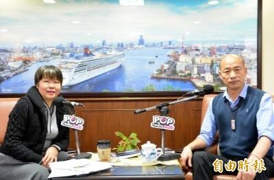 韓國瑜提告妨害名譽    黃光芹:越打壓越激發鬥志
