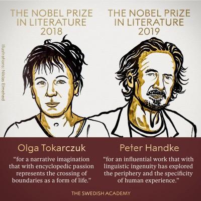 諾貝爾文學獎得主由波蘭及奧地利作家獲得