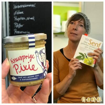吃貨變成創業家  女社會學者創水果芥末熱銷德國