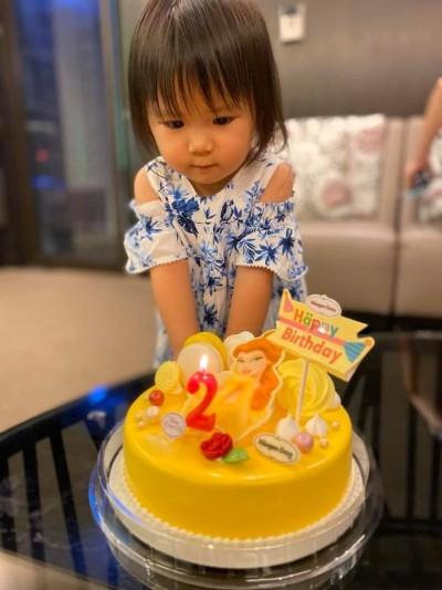 江宏傑福原愛歡慶女兒2歲生日 夢幻場景曝光
