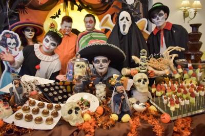 萬聖節玩主題派對 墨西哥亡靈骷髏頭變裝搞怪!
