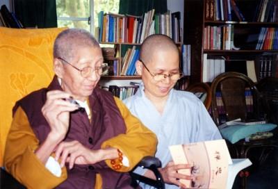 憶念華梵大學創辦人曉雲禪師 悟觀法師明發表新書《法華經者的話》