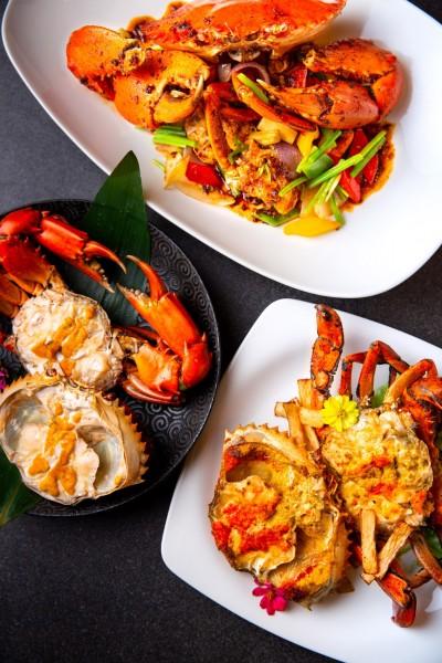 一個人也過癮吃秋蟹 五星飯店推「龍鮑蟹」套餐