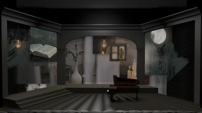 黎明之前   鋼琴家嚴俊傑與張艾嘉曖魅