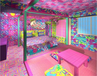 這間房太卡哇伊!  感受日式可愛又前衛住宿體驗