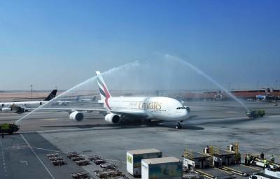 阿聯酋A380執飛開羅 旅客前往埃及可享A380服務