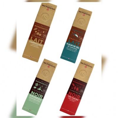 巧克力界的LV小包裝進駐超商 4種口味免百元