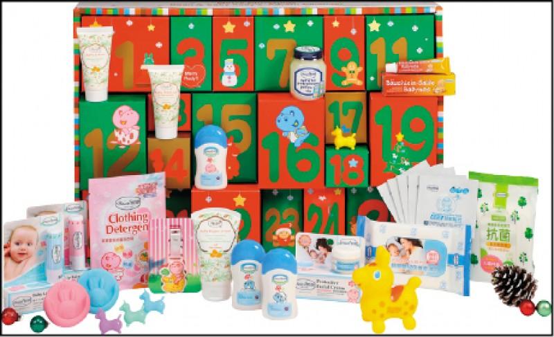 【消費專題】《倒數月曆 迎2020》寶寶的第一份耶誕禮