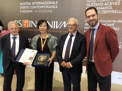 林珮淳不畏中國打壓 獲佛羅倫斯雙年展新媒體藝術首獎