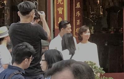 震撼!林志玲世紀婚禮行頭 這亮點成「台灣第一人」