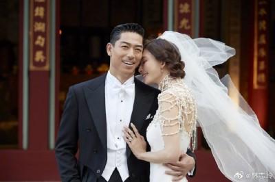 儀式後首po文發聲!林志玲曝1117辦婚禮原因
