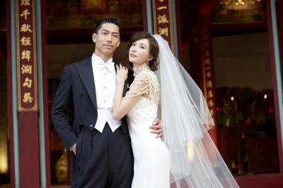 林志玲的婚紗 有錢都買不到!