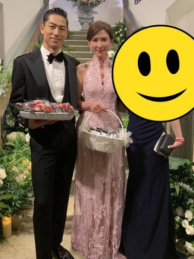 林志玲婚禮穿這樣 天王嫂露奶挨轟「沒禮貌」