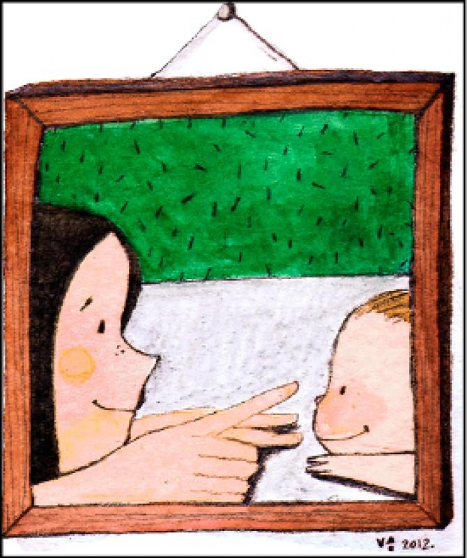 【家庭親子】〈親子過招〉晚安吻 媽媽投降