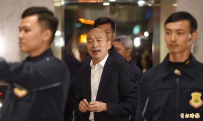 (影音)當總統太可惜 立委勸韓國瑜進軍演藝圈