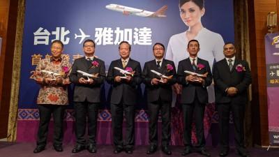 巴澤航空12/14開航台北—雅加達航線  前往印尼更便利
