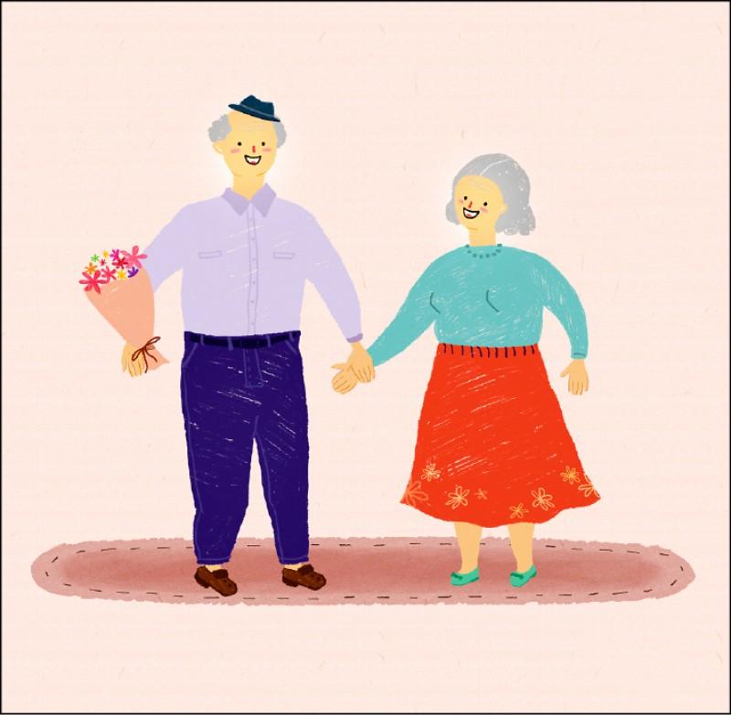 【兩性異言堂】〈老夫老妻踹共〉白首偕老 手手牽更緊