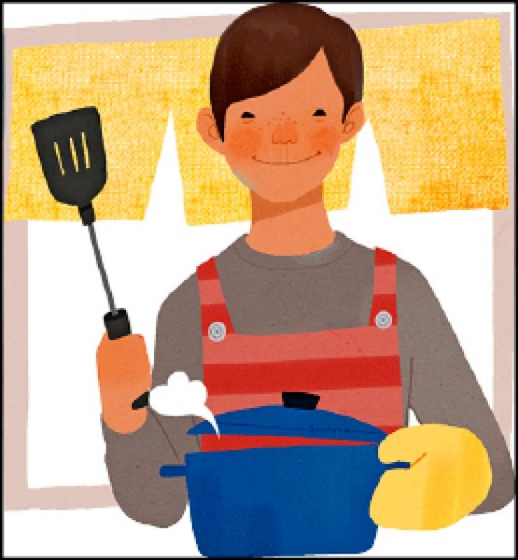 【家庭親子】〈生活停看聽〉為愛女 下廚初體驗