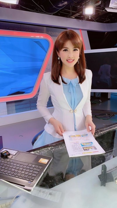 美女主播陳海茵喊「被收視率綁架」:很灰心 今晚告別主播台3個月