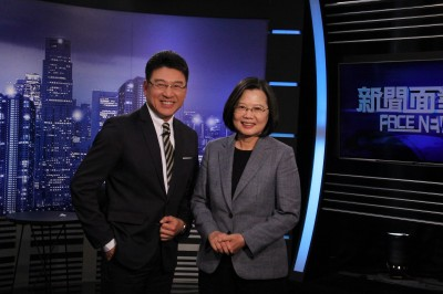 小英總統來了!接受謝震武《面對面》專訪   首談「罷韓運動」內心話