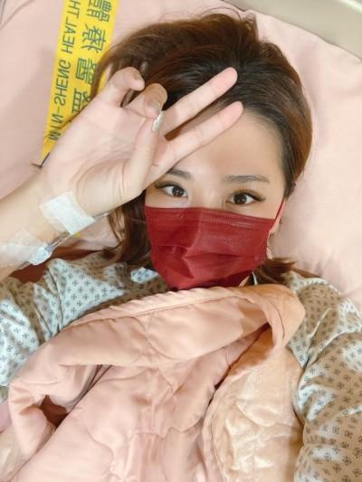 小禎送急診「晚一天就完蛋」 開刀滿滿膽結石
