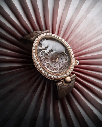 慶祝農曆金鼠年 錶界奇蹟再現驚人技藝