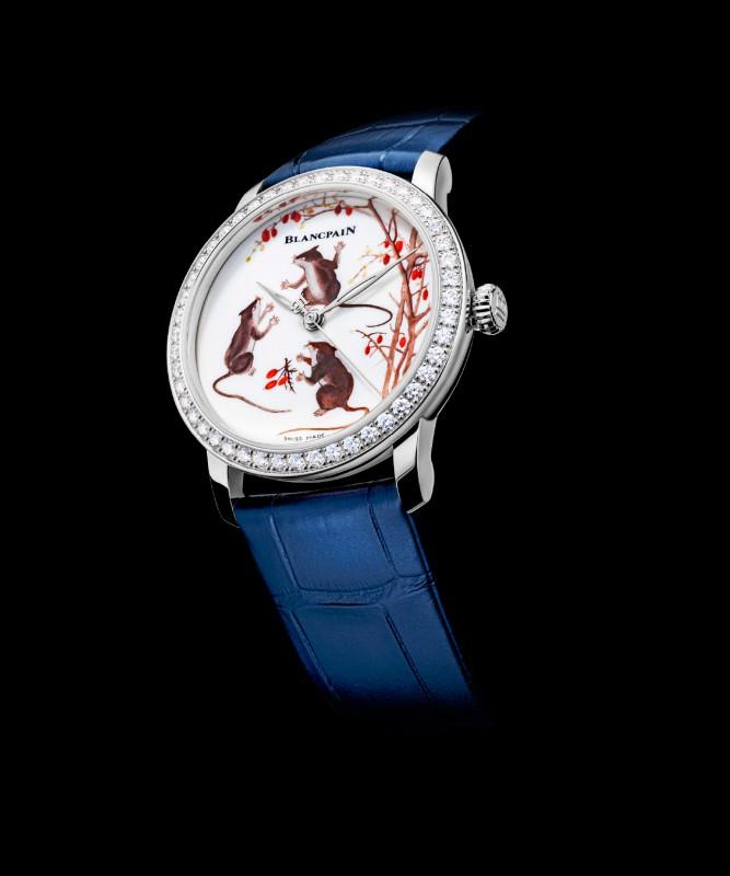 【消費新聞】專鼠腕上風采 貴金鼠腕錶 限量珍藏價值