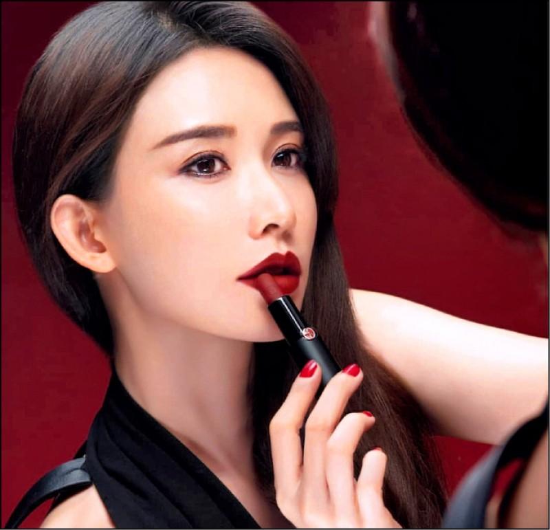 【新春特刊】 志玲姊姊示範 Armani超燒唇色