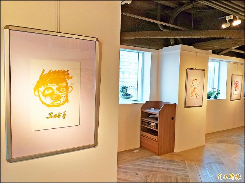 【藝術文化】訴說戰爭殘酷 旅德畫家陳羅克為難民營兒童發聲