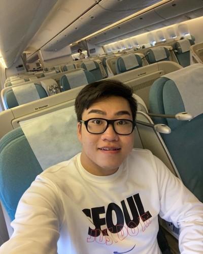網紅Joeman赴韓飛機上「零乘客」 親曝當地排華現象
