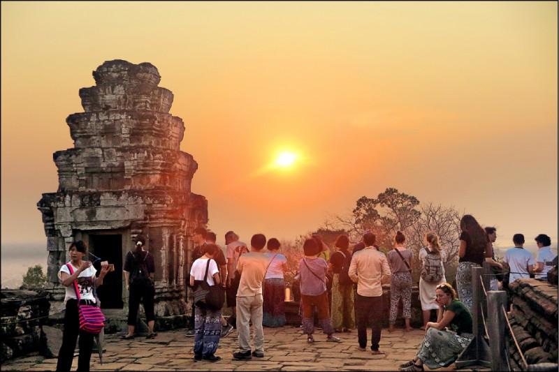 〈實現我的旅遊夢〉奔向5座寶塔─柬埔寨遊記