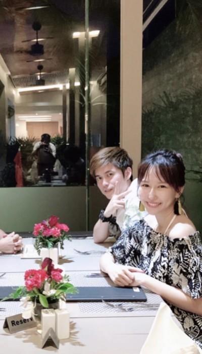 恭喜!潘嘉麗升格台灣媳婦 巨鑽曝光閃爆了