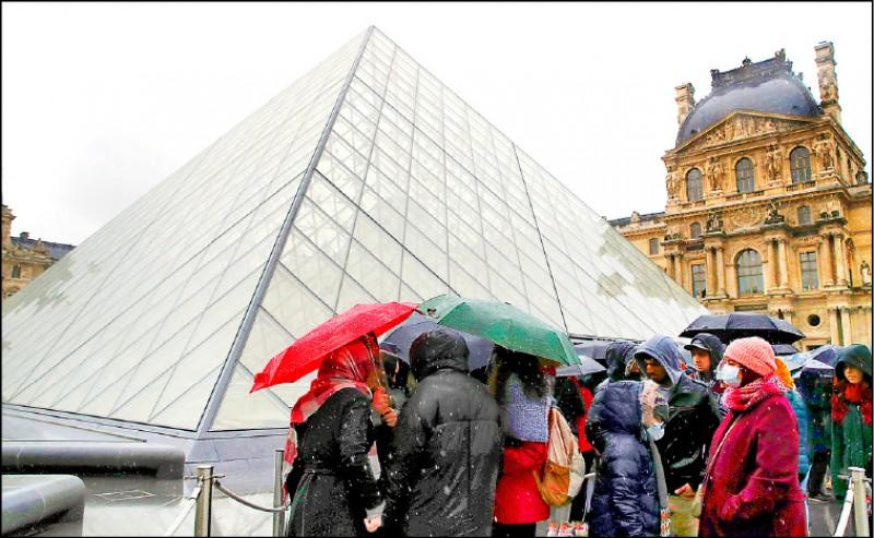 【藝術文化】該不該開館? 羅浮宮員工憂染疫拒絕上班