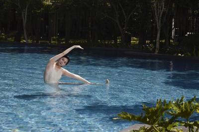 虹夕諾雅谷關夏季限定 露天泳池「活力水行」