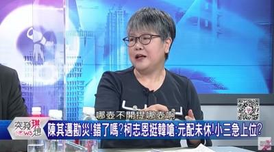柯志恩挺韓虧陳其邁「小三」 黃光芹開幹抖出國民黨內幕