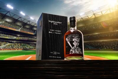 這款威士忌必收 日本最紅台灣棒球職人躍上酒標