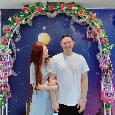 恭喜!ㄚ頭今嫁前警政署長之子 甜喊:我是王太太了