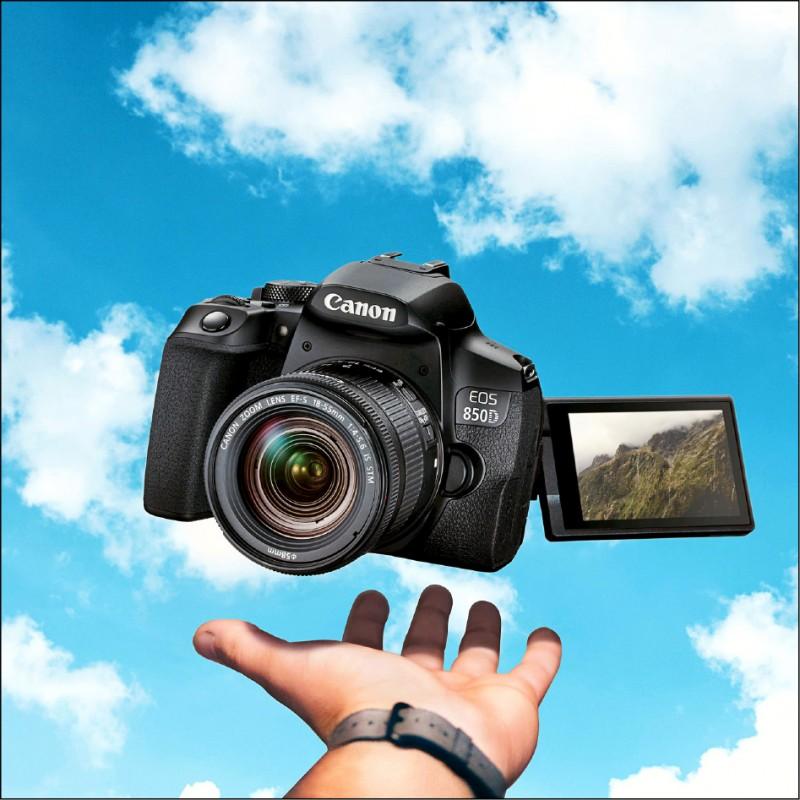 【消費新聞】Canon入門新單眼相機 高階規格誘人