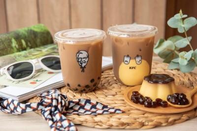 肯德基預告將推珍珠奶茶 還有一款國民奶茶…