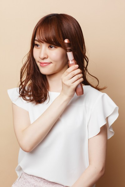 日本櫻花妹瘋狂的沙宣無線直捲整髮器 台灣開賣啦!
