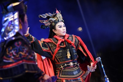 3萬觀眾衝凱道  明華園總團演出大爆滿  海外民眾敲碗要直播