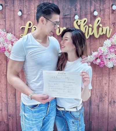 恭喜!41歲KIMIKO結婚了 教授老公嗨喊:她簽名了