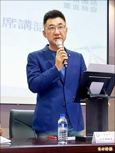 許崑源靈堂發誓 苦苓妙問:江啟臣為何不去慈湖?